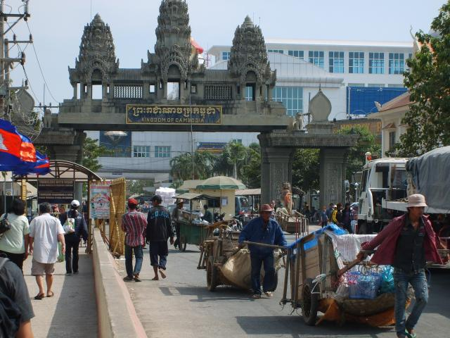 grens thailand cambodja