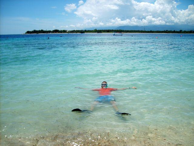 gili trawangan snorkelen