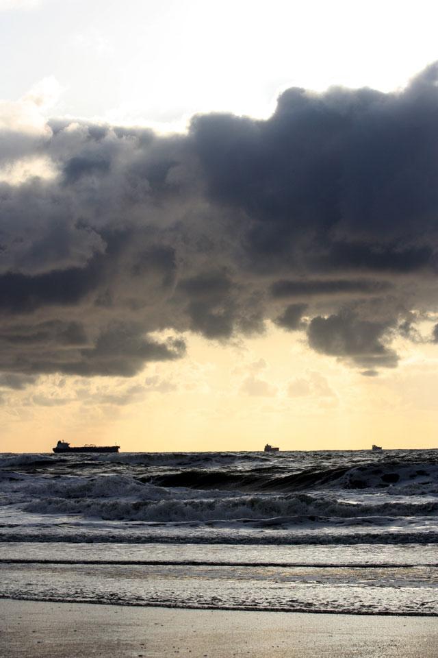 zonsondergang hoek van holland