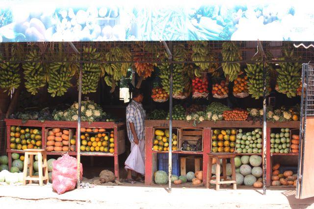 groente en fruitstal