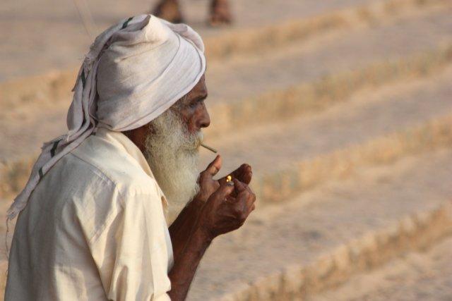 van roken word je oud